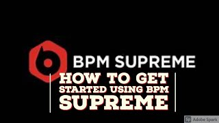How to Get Started Using BPM Supreme For DJ Tyler