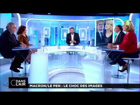 Macron  /  Le Pen : Le choc des images #cdanslair 28-04-2017