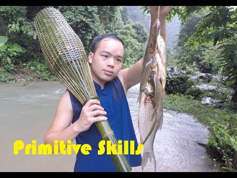 Primitive Skills: Freshwater Fish Trap