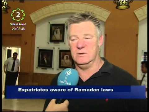 Expatriates living in Kuwait are aware of Ramadan laws