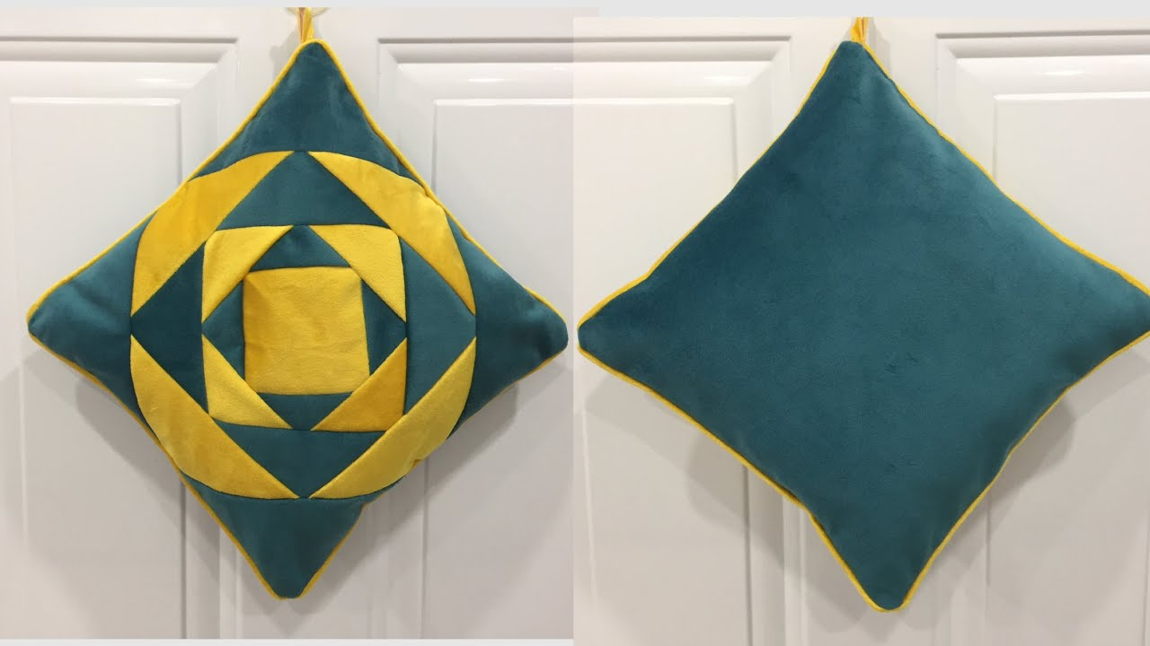 ✳️How to sew a unique decorative pillow/Sew bags, sew rugs, sew decorative panels...in the same way