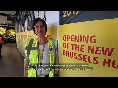 DHL Brussels Hub - DoubleTap4Pride