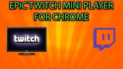 Epic twitch mini player!