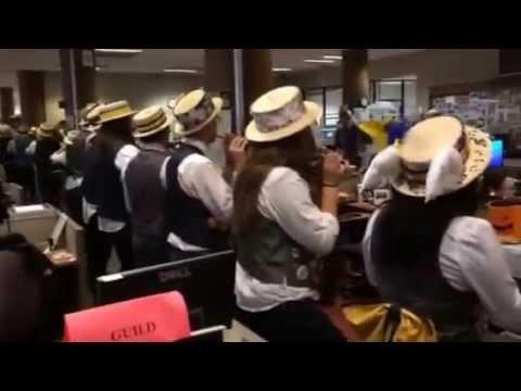 Cal Band at SF Chronicle