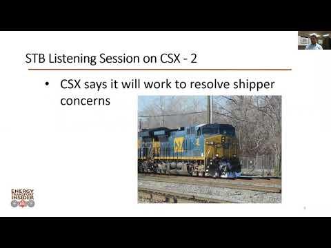 Energy Transport Insider video blog Oct  13, 2017