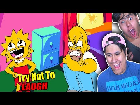 Try Not To Laugh! The Simpsons Funny Moments