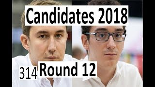 Candidates 2018: Round 12 'Playing like a man!'
