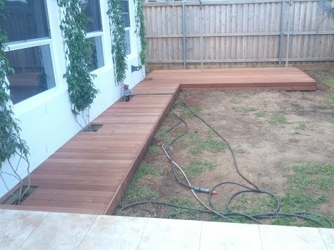 DIY Build Low Deck & Boardwalk