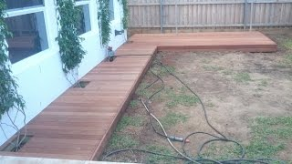How to Build a Ground Level Deck & Boardwalk