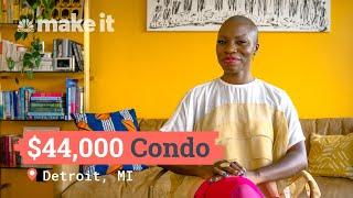 Living In A $44K, All Cash Condo In Detroit, MI | Unlocked
