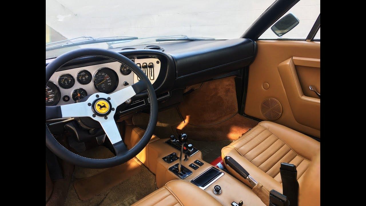 1975 Ferrari Dino 308gt4 Interior Restoration Youtube