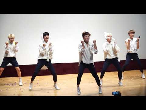 180817 에이스 A.C.E - Take Me Higher (With Chan) 서울여성아트홀 팬사인회