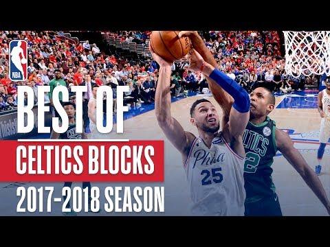 Boston Celtics's Best Blocks of this NBA Season!