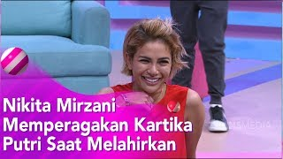 BROWNIS  - Heboh! Nikita Mirzani Peragakan Kartika Putri Melahirkan (13/1/20) PART2