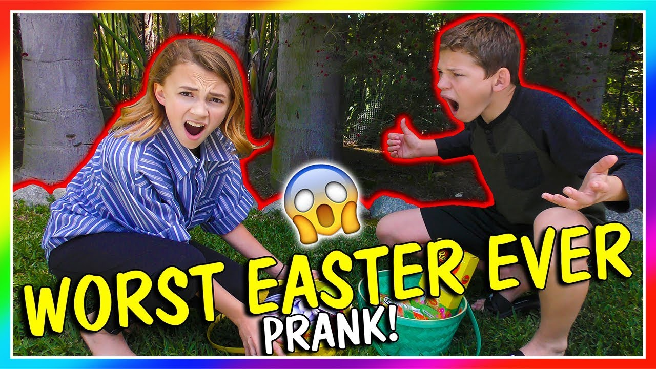 Worst Easter Ever Prank We Are The Davises Youtube