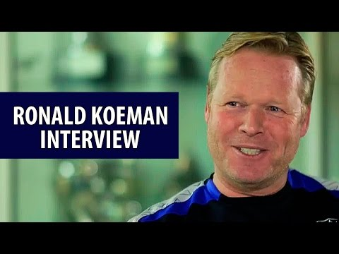 Ronald Koeman interview - The Premier League Show