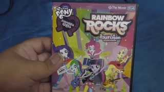(EVA GAMER) รีวิวสั้น DVD TIGA My little Pony Equestria girl Rainbow rocks