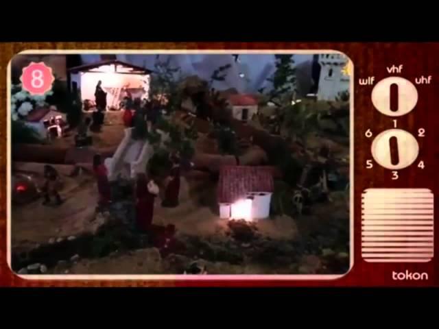 [Reportaje Telemadrid] Belén de Navidad (La Aliseda de Tormes, Ávila)
