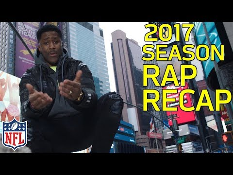 🔥2017 Season Rap Recap feat. Nate Burleson🔥 | NFL Highlights