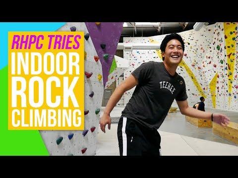 We Went Rock Climbing!