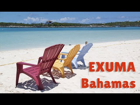 Video Exuma Bahamas Stocking Island
