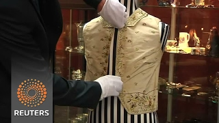 Captain Cook waistcoat fails to sell at auction