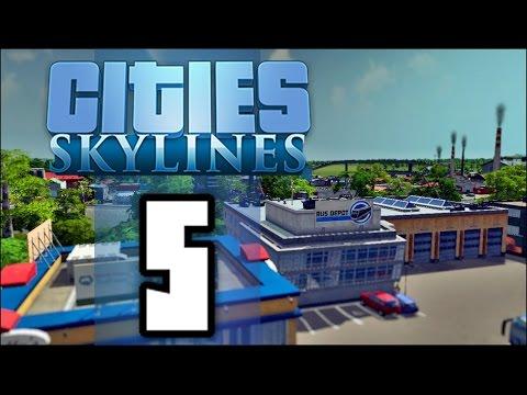 Cities Skylines: Градски Транспорт - Епизод #5 (Bulgarian Gameplay)