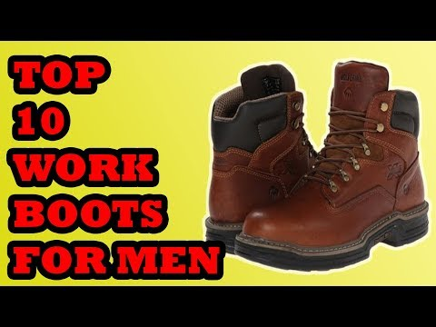 Best Work Boot For Men 2018 | Top 10 Work Boot For Men 2018