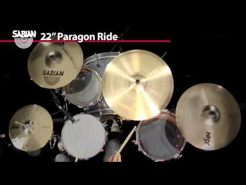 Sabian Paragon Neil Peart Complete Cymbal Set With Flight Case