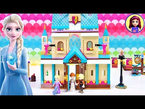 Frozen 2 Arendelle Castle Village - Lego Speed Build