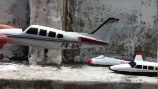 Maquetes de avião (Papelão)