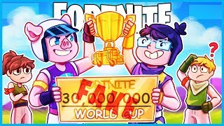 Fortnite but we pretend every game is the World Cup Finals... ($30,000,000)