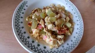 Завтрак: омлет с кабачком #завтрак  #пп #рецепт