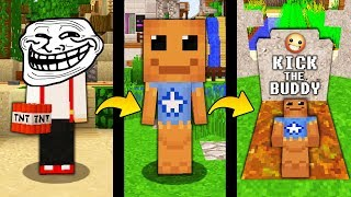 JAK TROLLOWAĆ KICK THE BUDDY W MINECRAFT! || MINECRAFT TROLL!
