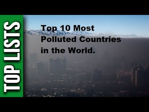 Top 10 Most Polluted Countries of the World (2017)