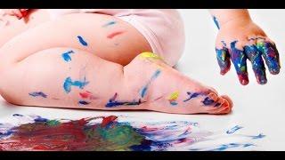 пальчиковые краски за 3 минутысвоими руками