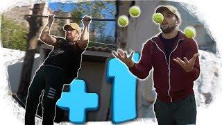 [+1] Подтягиваться 20 раз и жонглировать 4 мячами. Получиться ли?