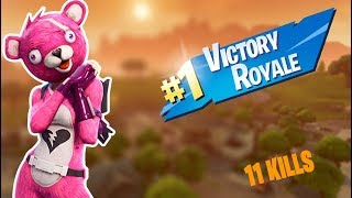 I BOUGHT THE SKIN OF THE PINK BEAR AND MITEI!! FORTNITE: BATTLE ROYALE