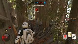 Empire ...Wins?? What? Walker Assault on Endor - Starwars Battlefront
