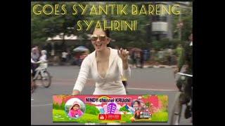 Goes Syantik Bareng Syahrini Dibundaran Hotel Indonesia