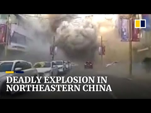 China death toll rises after suspected gas blast in northeastern city of Shenyang kills 3