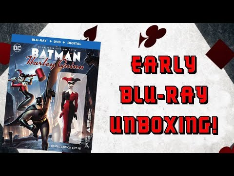 BATMAN AND HARLEY QUINN (LIMITED EDITION GIFT SET) - EARLY BLURAY UNBOXING!!! streaming vf
