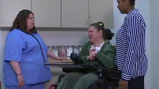 Doctor's office caregiver way