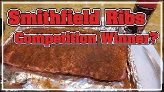 BEST Competition Rib??? Smithfield Extra Tender Test by BBQ Champion Harry Soo SlapYoDaddyBBQ.com