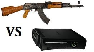 ak47 vs xbox 360 elite