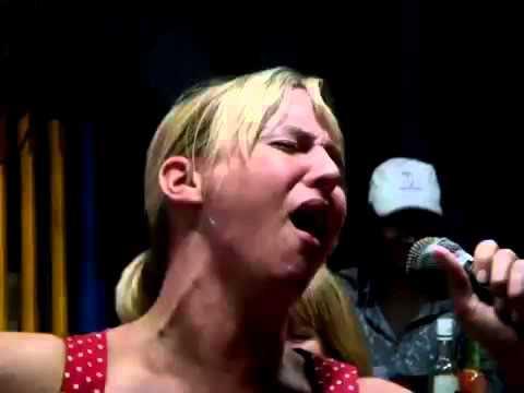 Funny Karaoke Amy aka a very drunk Tina Turner!