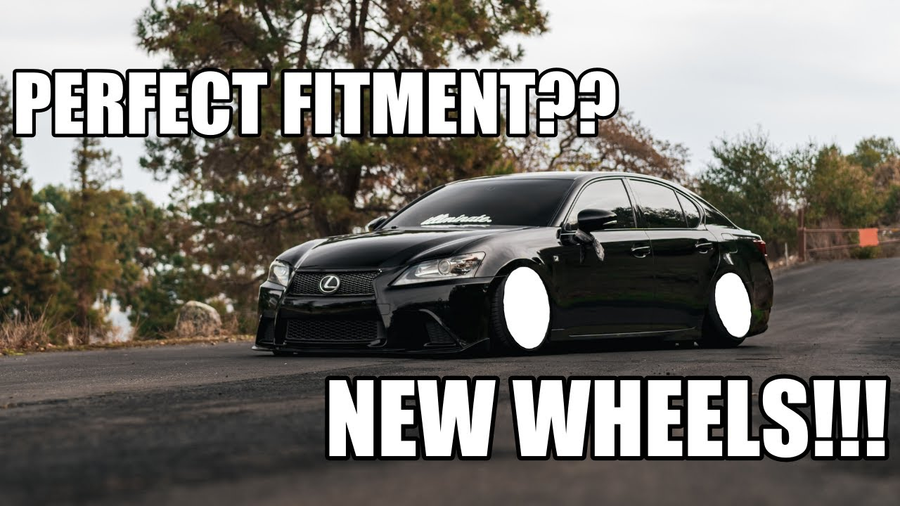 Lexus Gs350 Gets 1 of 1 Wheels!!!