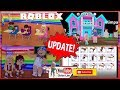 🍎 Roblox MeepCity! SCHOOL UPDATE! Buying School Furniture and Making a SCHOOL! LOUD WARNING!