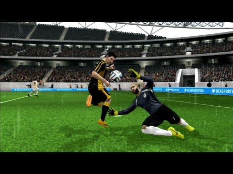 FIFA 15 - LIONEL MESSI AMAZING GOAL - FLICK OVER TIM HOWARD!