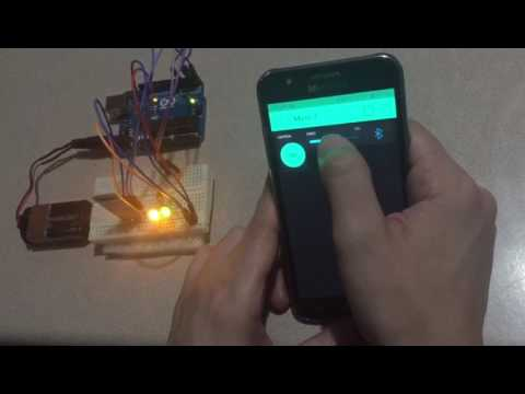 Home automation with Arduino+Blynk+HC-05